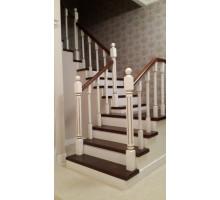 Закрытые лестницы на металлокаркасе