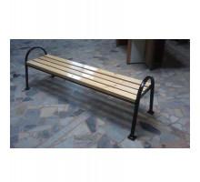 Антивандальная скамейка металлическая