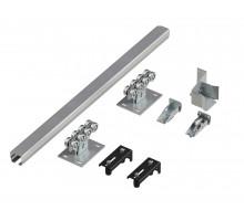 DoorHan Комплект для сборки откатных (сдвижных) ворот до 400 кг 71x60x3.5 L=6000 мм.