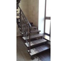 Открытые лестницы на металлокаркасе