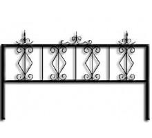 Ограда ОС-9 : Стоимость: 1150 руб./м.пог.