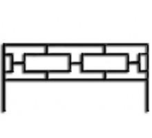 Ограда ОС-10 : Стоимость: 800 руб./м.пог.