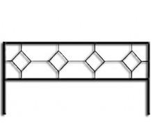 Ограда ОС-11 : Стоимость: 850 руб./м.пог.