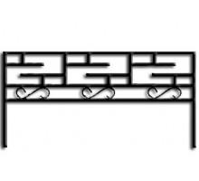 Ограда ОС-12 : Стоимость: 950 руб./м.пог