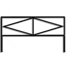 Ограда ОС-3 : Стоимость: 700 руб./м.пог.