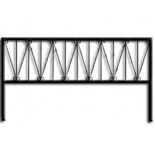 Ограда ОС-4 : Стоимость: 900 руб./м.пог.