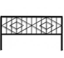 Ограда ОС-5 : Стоимость: 900 руб./м.пог