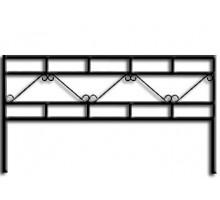 Ограда ОС-6 : Стоимость: 900 руб./м.пог.