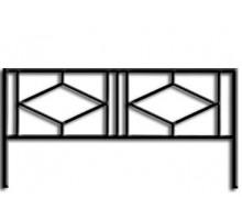Ограда ОС-7 : Стоимость: 850 руб./м.пог.