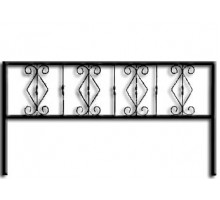 Ограда ОС-8 : Стоимость: 1100 руб./м.пог