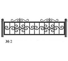 Ограда КО-2 : Стоимость: 2600 руб./м.пог