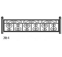 Ограда КО-4 : Стоимость: 2700 руб./м.пог.