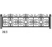 Ограда КО-5 : Стоимость: 2900 руб./м.пог.