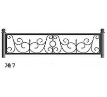 Ограда КО-7 : Стоимость: 2700 руб./м.пог.