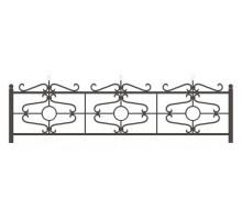 Ограда КО-10 : Стоимость: 2700 руб./м.пог.