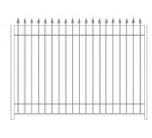 Забор Базовый №2 - 1 200 р/м2.