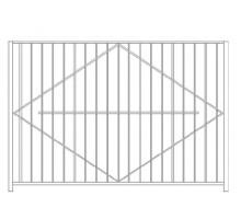 Забор Базовый №4 - 1 150 р/м2.