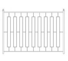 Забор Базовый №8 - 1 600 р/м2.