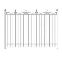 Забор Базовый №9 - 1 400 р/м2.