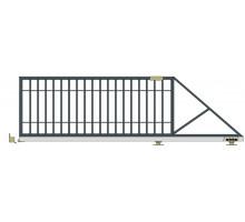 Откатные ворота серии Стандарт - Р1
