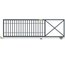 Откатные ворота серии Стандарт - Р2