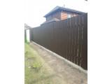 Забор из терассной доски